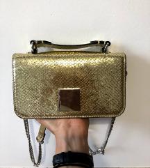 ZARA zlata torbica