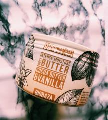 Maslo za telo s kakavom in vaniljo
