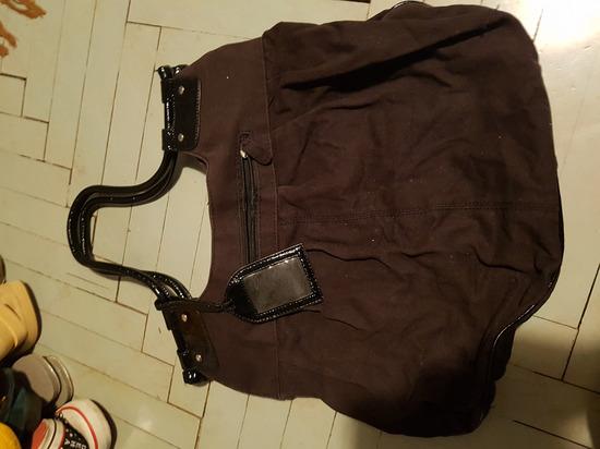 Črna torba velika