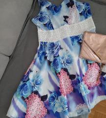 obleka čipka