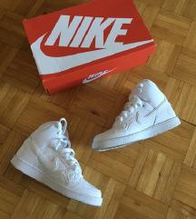 Nike Force bele visoke superge