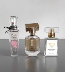 Hugo Boss, Christina Aguilera, Hermes replika