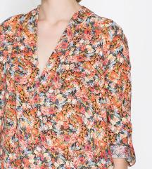 Zara rožnata bluza