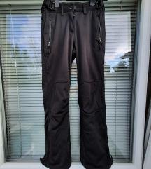 CRIVIT št. 36 / 38 softshell nepremočljive hlače