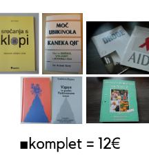 ZDRAVJE ■celoten komplet knjig = 12€