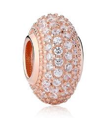 Pandora obesek rose gold