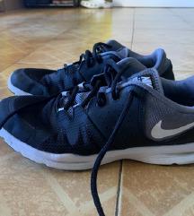 Nike odlicno ohranjene crne superge + darilo