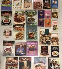 Kuharske knjige različne