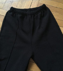 ZNIŽANE podložene tople hlače na črto