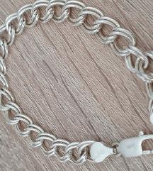 Srebrna nova zapestnica (pravo srebro 925)