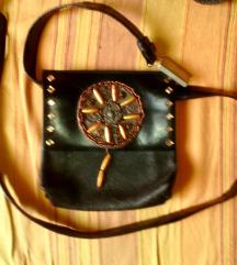 torbica fanny pack,etno,nošena,pravo usnje