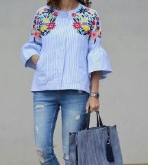 Zara NOVA embroidred jakna