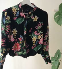Zara rožnata jaknca, blazerček, NOV