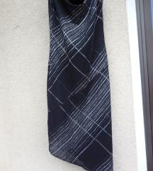 Nova elegantna party črna svetleča obleka
