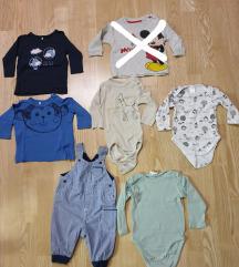 Otroška oblačila 62 in 56