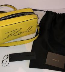 Karl Lagerfeld rumena torbica
