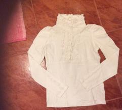 Elegantna bela majica S