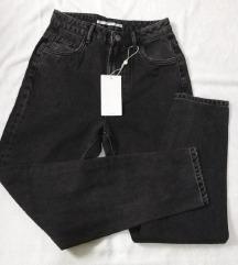Zara mom jeans black