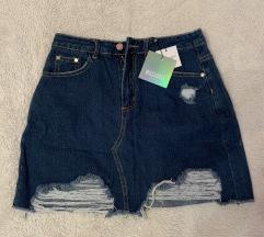 Mini jeans krilo