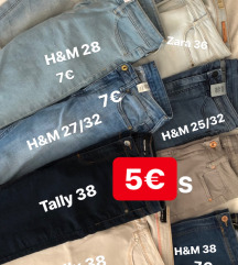 Kavbojke kot nove 5€
