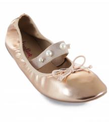 rose-gold  NOVE  balerinke (-z deklaracijo)