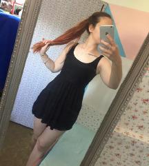 34 Črna kratka oblekica/tunika