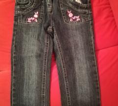 Jeans hlače 104