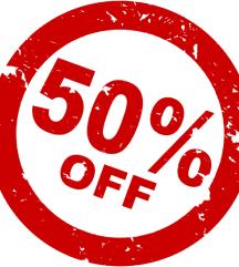 Praznim butik VSE -50 %