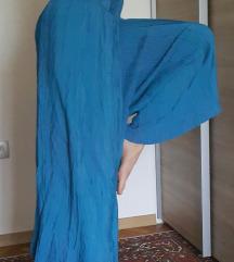 Čudovite hlače prava svila s/m