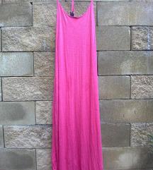 Pink casual maxi obleka H&M