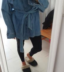 jeans jakna s pasom