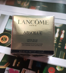 LANCÔME 🏆 Absolue Rich Cream 50% (MPC >50€)