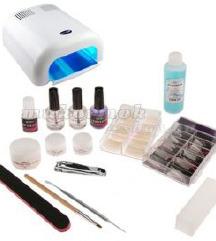 Komplet za geliranje nohtov-UV lucka