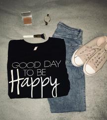 Črni pulover