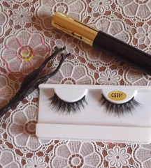 magnetne trepalnice + eyeliner