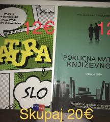 Matura knjigi za slovenščino