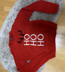 Bozicni pulover S, ppt v ceni