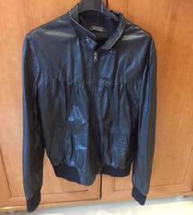Ženska usnjena črna jakna Bata