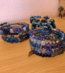 Ročno izdelane zapestnice (več slikc)