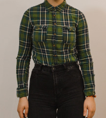 Zelena karirasta srajčka