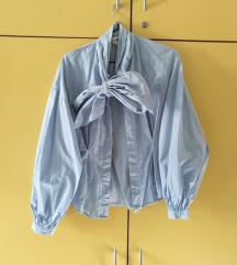 H&M srajca s pentljo, balonasti rokavi