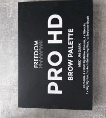Freedom PRO HD brow paleta Medium dark