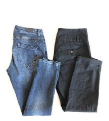 2x SISLEY hlače (ZNIŽANO)