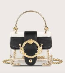 Nova črna zlata torbica