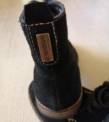 Novi usnjeni visoki čevlji št. 36