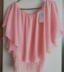 Nova pink srajčka vel. UNI