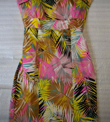 H&M palm tropical obleka 38