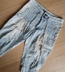 Fishbone baggy hlače