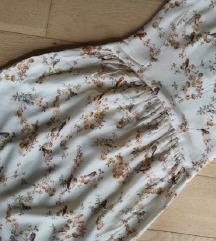 Bershka NOVA obleka s ptički
