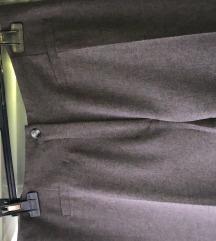 Elegantne temno sive hlače Lantzky 38/40